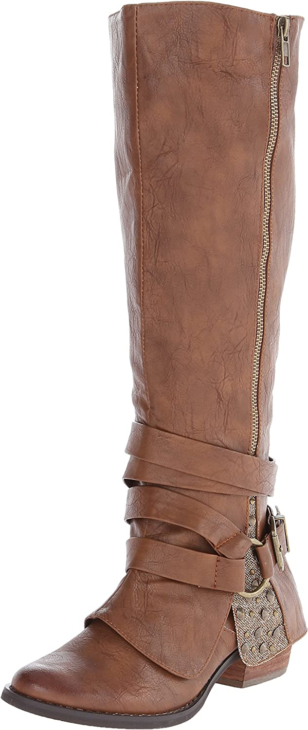 Not Rated Women's Two of Hearts Riding Boot