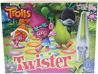 Hasbro Gaming Twister Game: DreamWorks Trolls Edition