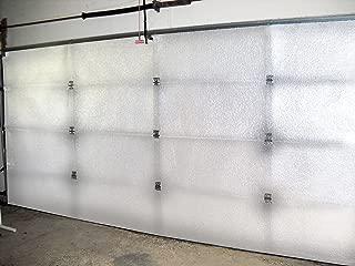NASA Tech White Reflective Foam Core Garage Door Insulation Kit 9L x 7H