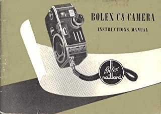 Bolex C8 Camera Original Instruction Manual