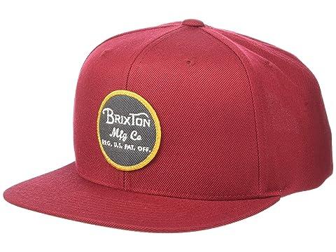 e0bce86d621 Brixton Wheeler Snapback at Zappos.com