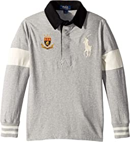 Big Pony Cotton Jersey Rugby (Little Kids/Big Kids)