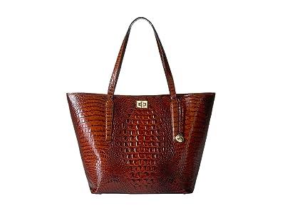 Brahmin Melbourne Annika Bag (Pecan) Handbags