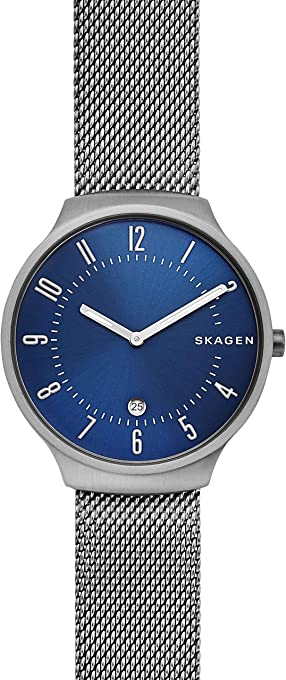 Skagen Men's Quartz Watch analog Display and Stainless Steel Strap, SKW6517