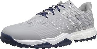 Men's Adipower s Boost 3 Golf Shoe, Grey/Noble Indigo