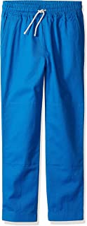 Amazon/ J. Crew Brand- LOOK by crewcuts Boys' Lightweight Pull on Chino Pant