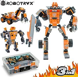 JITTERYGIT Juguete Robot Stem | Divertido Juego Creativo 3 en 1 | Juguetes de construcción para niños de 6-14 años de Edad | El Mejor Juguete de Regalo para niños | Kit de póster Gratis Incluido