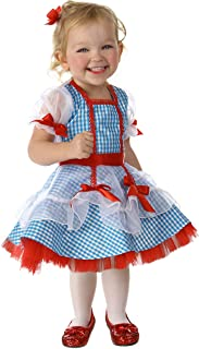 Baby Girls' The Wizard of Oz Dorothy Glitter Deluxe Costume