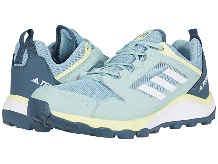 adidas Outdoor  Terrex Agravic TR (Ash Grey/White/Yellow Tint) Womens Shoes