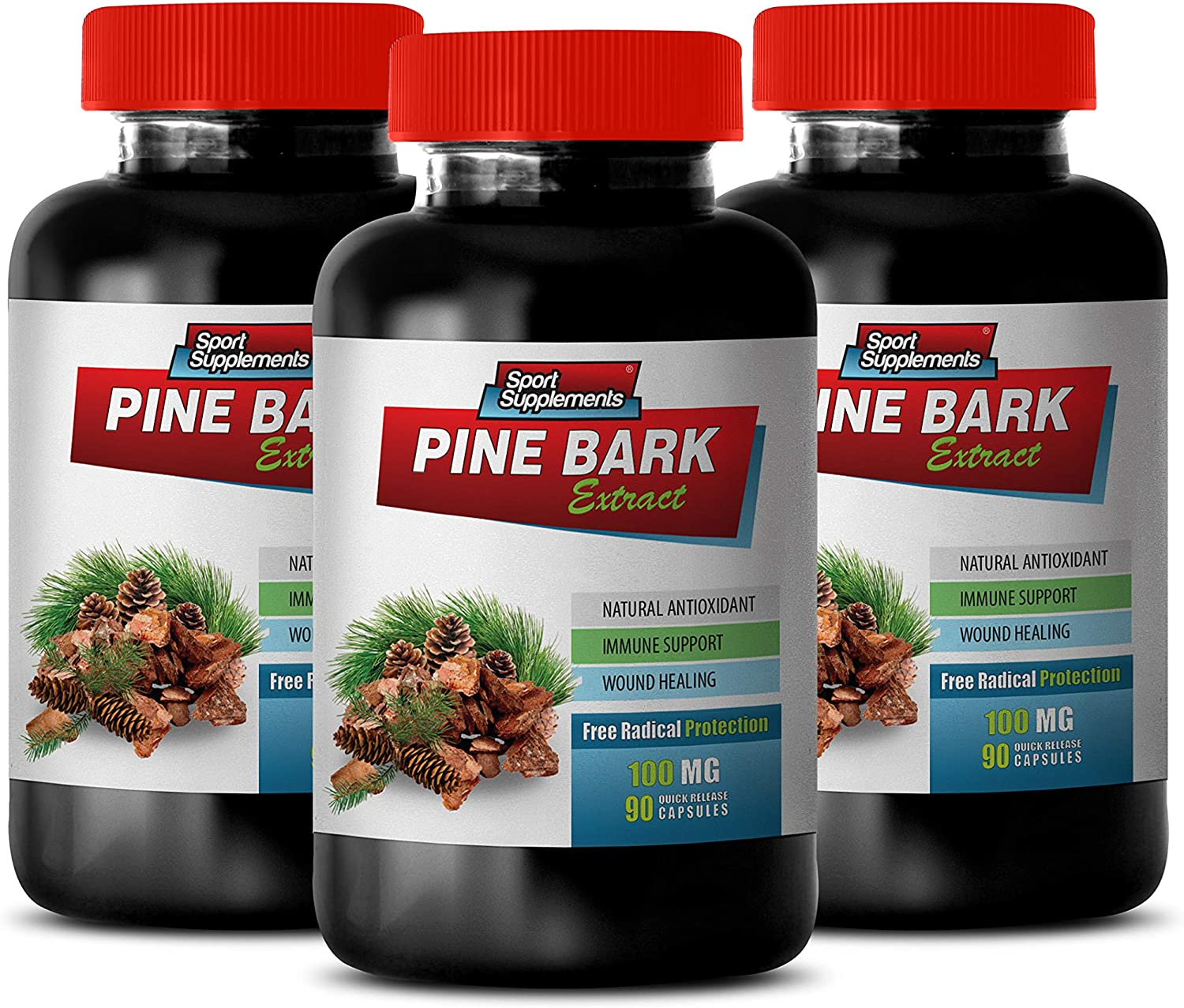 Brain Booster Capsules - Pine Latest item Radical Extract Protec Free Ranking TOP18 BARK