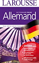Dictionnaire Larousse de poche allemand - francais / francais - allemand (French and German Edition)