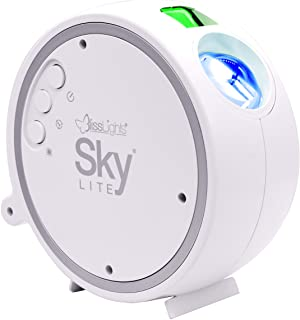 BlissLights Sky Lite – Laser Star Projector w/ LED Nebula Cloud for Game Room..