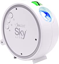 BlissLights Sky Lite - LED Star Projector, Galaxy Light, Nebula Cloud Lamp (Green Stars/Blue Cloud)