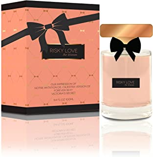 Risky Love Eau De Parfum Spray for Women, 3.3 Ounces 100 Ml - Impression of Victoria's Secret Forever Sexy