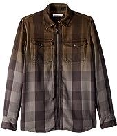Stella McCartney Kids - Melvil Plaid Ombre Button Up Shirt (Toddler/Little Kids/Big Kids)