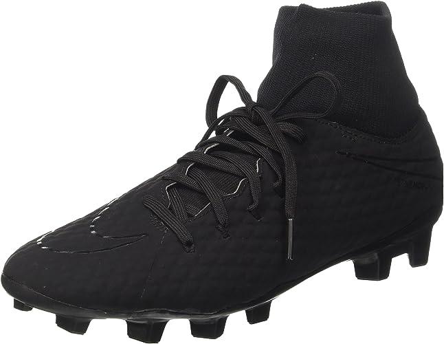 Nike Hypervenom Phelon 3 DF FG Chaussures de Football Homme, Noir noir 001, 39 EU