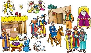 Little Folk Visuals Beginners Bible: Baby Jesus Precut Flannel/Felt Board Figures, 16 Pieces Set
