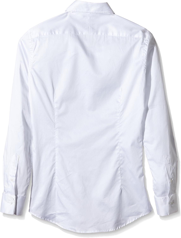 Scalpers Madrid ELISEE Shirt 03 Camisa, White, 43 para Hombre ...