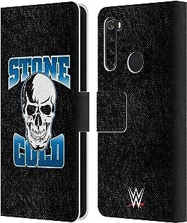 オフィシャル WWE ストーンコールド スティーブ・オースティン Xiaomi Redmi Note 8T 専用レザーブックウォレット カバーケース