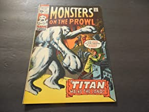 monsters on the prowl 11