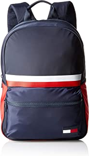 TOMMY HILFIGER Men's Sport Mix Backpack, Blue