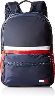 TOMMY HILFIGER Men's Sport Mix Backpack, Blue