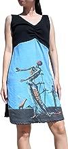 Raan Pah Muang RaanPahMuang Salvadore Dali - Burning Giraffe - Cross Bust Sac Dress