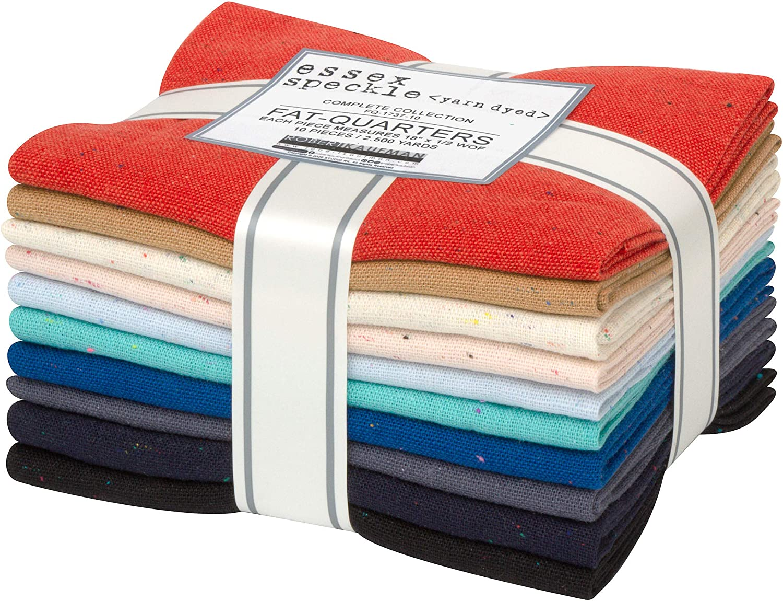 Essex Spasm price Speckle Yarn Dyed 10 Fat F Fabrics Kaufman Branded goods Quarters Robert