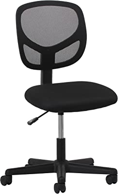 Essentials OFM Essentials Swivel Armless Mid Back Mesh Task Chair - Ergonomic Computer/Office Chair (ESS-3000)