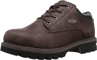 Lugz Men's Empire Lo Water Resistant Fashion Boot, Coffee/Black, 7.5 D US