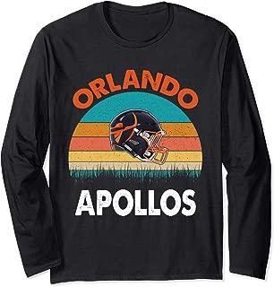 Vintage Orlando Football Apollos T-Shirt For Fans club