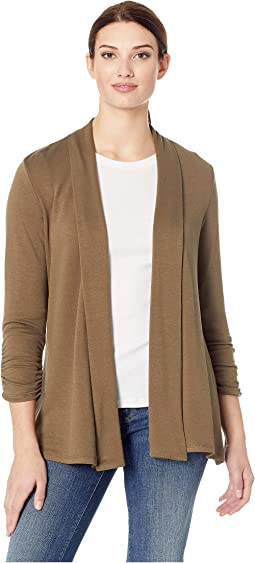 Cinch Sleeve Cardigan