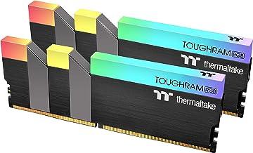 Thermaltake TOUGHRAM RGB DDR4 3600MHz 16GB (8GB x 2) 16.8 Million Color RGB Alexa/Razer Chroma/5V Motherboard Syncable RGB...