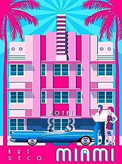 Best art deco posters miami Reviews