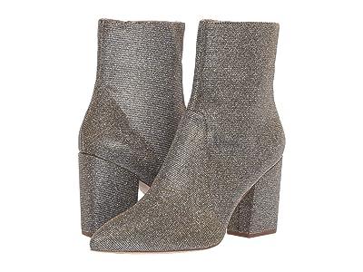 Loeffler Randall Isla Slim Ankle Bootie (Pewter Sparkle Metallic) Women