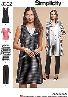 Taille 12 Vogue Patterns 1499/D5/Robes pour Femme 20