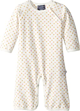 Toobydoo - Sweet Stars Soft White Jumpsuit (Infant)