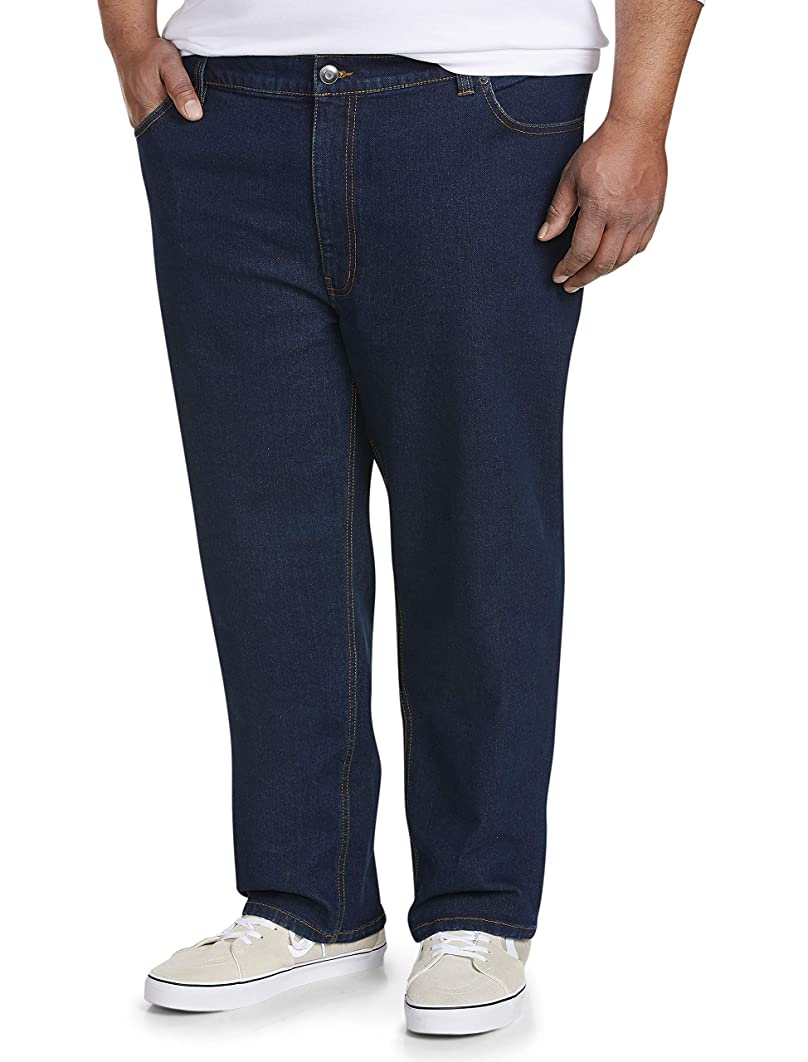 Amazon Essentials Men's Big & Tall Athletic-fit Stretch Jean fit by DXL