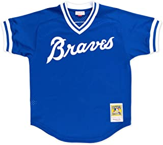 Mitchell & Ness Dale Murphy Atlanta Braves Men's Authentic 1981 BP Jersey - Blue