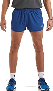 time to run Men's Pace Spirit 2.5 Inch Running/Gym/Athletic/Training/Workout Shorts with Rear Pocket and Inner Lining