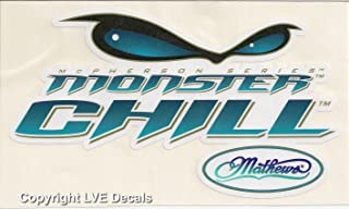 LVE Decals Mathews - Monster Chill - Archery Bowhunting Window Decal Sticker