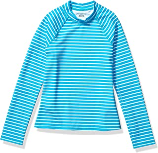 Amazon Essentials UPF 50+ Girl's Long-Sleeve Rashguard