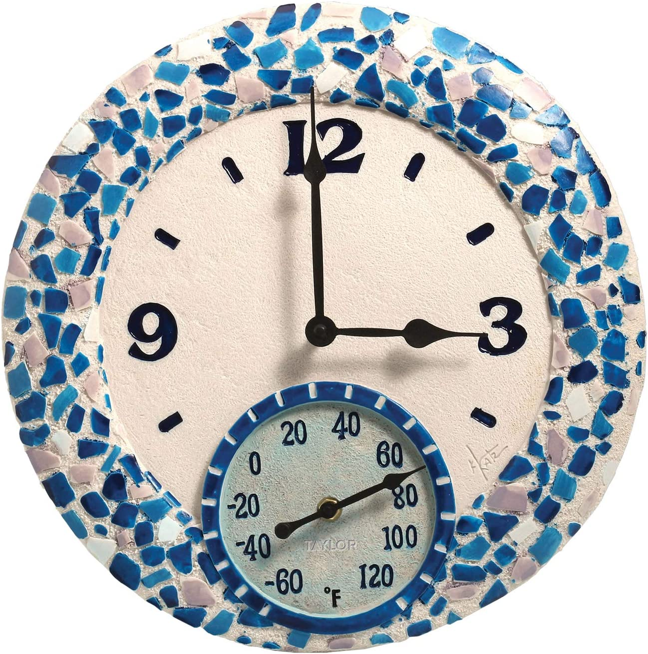 Taylor Precision Products cheap Mosaic Sea with Clock 14