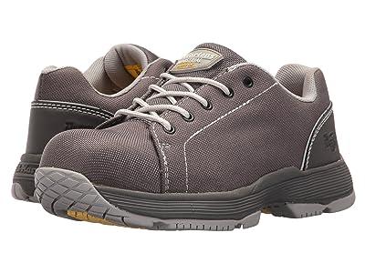 Dr. Martens Work Alsea Composite Toe SD 5-Eye Shoe (Dark Gull Grey) Women