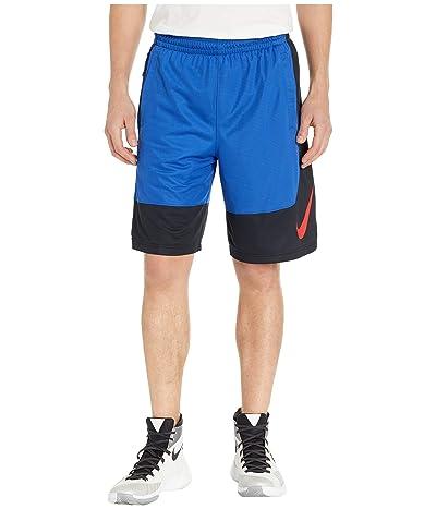 Nike Dry Shorts Asymmetrical (Game Royal/Black/University Red) Men