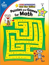 Puzzles and Games for Math, Grade 3 (Home Workbooks)