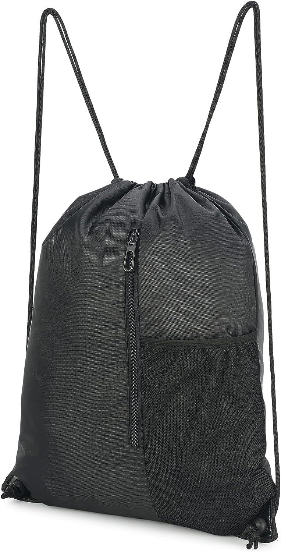 FMDAN Drawstring Backpack Bag for Men Pack Gym Women Financial sales Max 78% OFF sale Sack Li