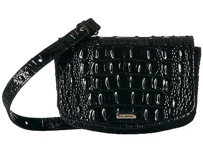 Brahmin Melbourne Lil (Black) Handbags