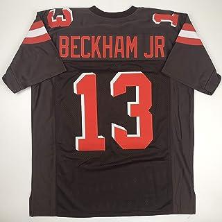1157e5d07 Unsigned Odell Beckham Jr. Cleveland Custom Brown Stitched Football Jersey  Size Men s XL New No