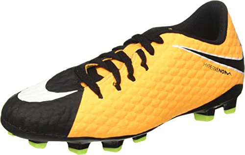 Nike Unisex-Erwachsene Hypervenom Phelon Iii Fg Jr 852595 801 Turnschuhe